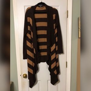 Chelsea and Theodore open front  long cardigan